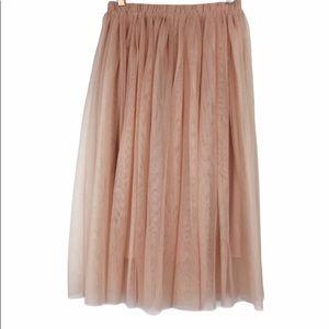 Blush Pink Ballerina Skirt Mossimo Size M